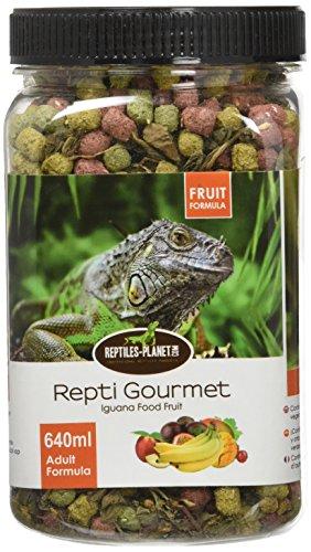 REPTILES PLANET Nourriture Repti Gourmet Formule aux Fruits pour Iguane Adulte 640 ml