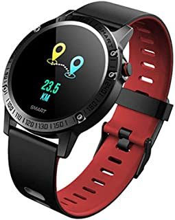 YZY Pulsera Actividad, Reloj Inteligente Rastreador de Actividad con podómetro, Swim Tracking, Heart Rate Monitor y 14 Day Battery, One Size
