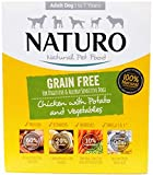 Naturo Dog Food (Grain Free Chicken with Potato & Vegetables (3x400g))