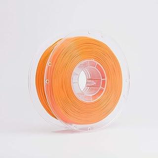 Standard Print Co. PETG 3D Printer Filament, 1.75mm, Orange, 1kg Refillable ECO Spool