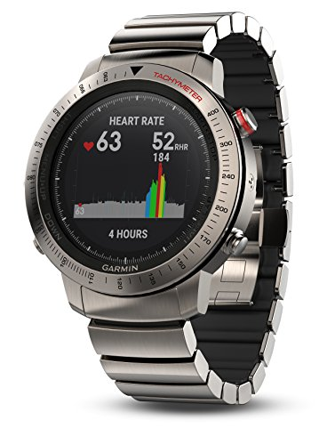 Best Prices! Garmin, Fenix Chronos, Watch, Titanium with Brushed Titanium Band, 010-01957-01