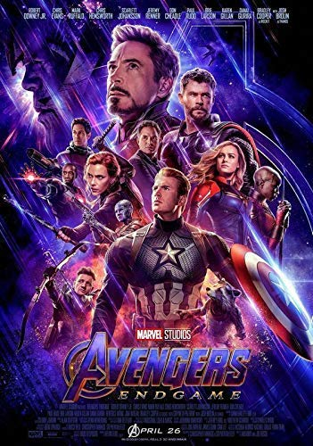 Desconocido Avengers: Endgame Movie Póster Foto Cine Marvel 2019 Iron Man Thanos Película Cartel Oficial 017 (A5-A4-A3) - A3