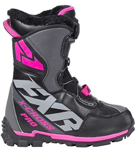 FXR X-Cross Pro BOA Boot (Black/Fuchsia, Womens 10 / EU41)