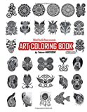 Art Coloring Book Day version: Global Doodle Gems presents Art Colring Book by Takumi Nariyoshi
