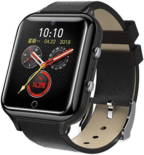 Reloj Inteligente de 1.54 pulgadas con pantalla táctil cuadrada tarjeta SIM y función WiFi Reloj de posicionamiento Bluetooth con función de monitoreo de salud Múltiples modos deportivos-B