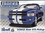 アメリカレベル 1/25 ダッジ ラム VTS ピックアップ 07204 プラモデル