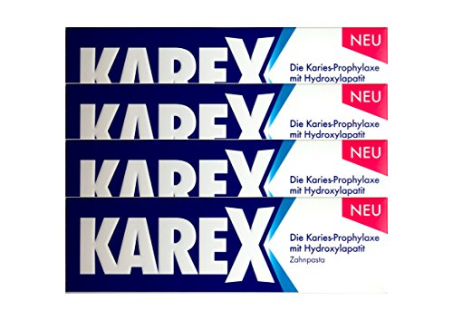 4x KAREX Zahnpasta 75ml PZN: 12607977 Zahncreme