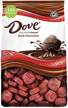 150-Piece Dove Promises Dark Chocolate Candy, 43.07 Ounce