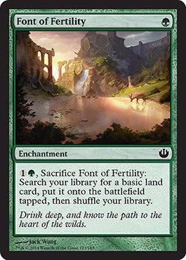Magic The Gathering - Font of Fertility (125/165) - Journey into Nyx...
