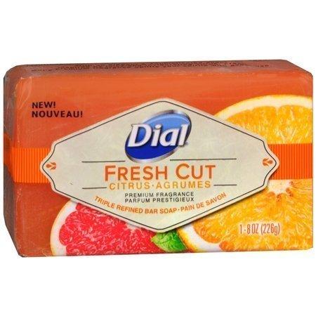 Dial Triple Refined Bar Soap, Fresh Cut Citrus, 8 oz
