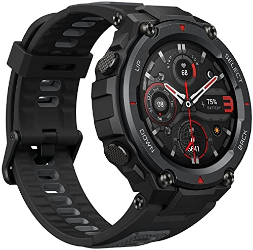 XIAOMI 7614 Smartwatch Amazfit T - Rex Pro, Gps, Preto de Meteorito