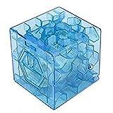 Nueva Novedad 3D del Rompecabezas del Cubo del Laberinto del Dinero del Ahorro del Banco Moneda De La Caja Fun Box Juego De Cerebro La Tensión del Juguete 3D Cube Puzzletoy