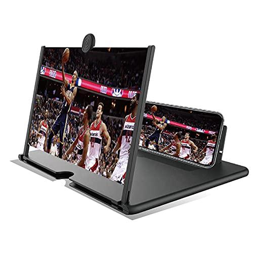 """""""N/A"""" Bildschirm-Vergrößerungsglas 12' Telefon Vergrößerungsbildschirm HD Bildschirm Projektor-Vergrößerer Strahlenschutz Handy-Lupe 3D Bildschirmlupe Ständer Für Alle Smartphone"""