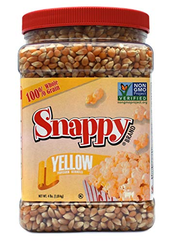 Product Image 3: Snappy Yellow Popcorn Kernels, 4lb Resealable Jar