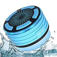 【Bluetooth Altoparlante IPX7 waterproof 】: Altoparlante Bluetooth della custodia rigida in silicone offre una sensazione tattile e una forte resistenza contro spruzzi d'acqua, polvere e urti. Un regalo eccellente per famigliari e amici. Goditi la tua...