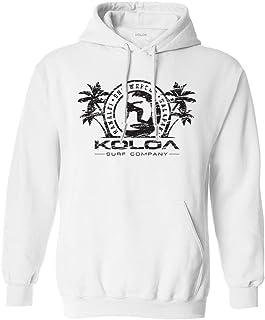 Koloa Surf Mens Surfer Girl Logo Pullover Hooded Sweatshirt Sizes S-4XL