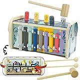 Juguetes Montessori Madera Xilofono Infantil Banco Herramientas Laberinto...