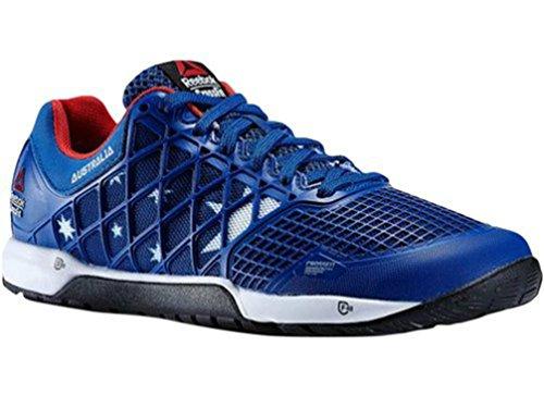 Reebok New Women's Crossfit Nano 4.0 Training Shoe (5.5, Collegiate Royal/China Red/White...