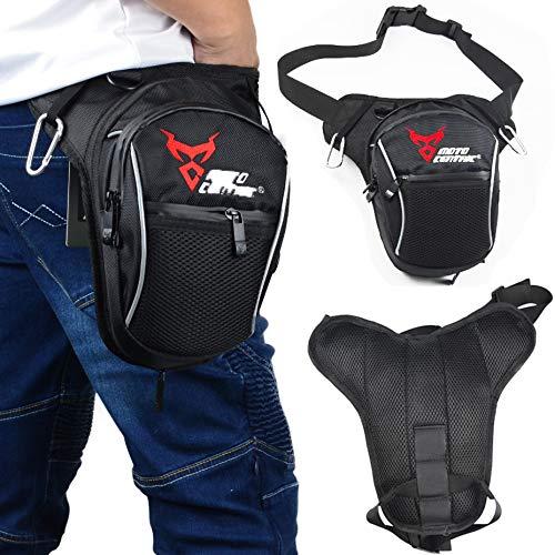 VISPREA ウエストバッグ ショルダーバッグ 防水 軽量 ランキング サイクリング メンズ レディース 大容量 多機能 ウエストポーチ スマートフォン デジカメ等収納可能 (赤)