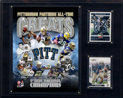 C & I Collectables NCAA Pittsburgh Panthers 12x 15Zoll All TIME-Größen Foto Plaque