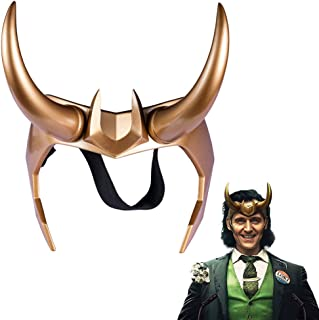 Loki Crown Resin Loki Horns New Cosplay Headpiece Helmet Prop for Party Gift