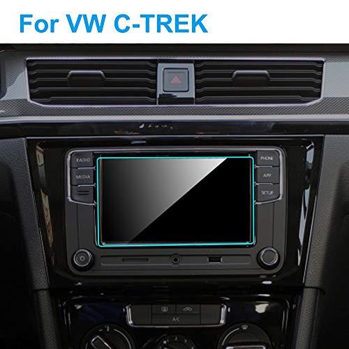ROYAL STAR TY Láminas protectoras 6,5 pulgadas de pantalla del coche Protector for Volkswagen VW C-TREK 2017-2020 Auto Interior del coche de navegación GPS del tablero de instrumentos película protect