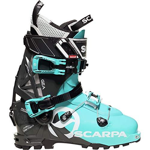 SCARPA GEA Alpine Touring Boot - Women's Scuba Blue/Anthracite, 25.5
