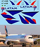 Generico 1/144 Decals for Airbus A350 LATAM Airlines TB Decal TBD520