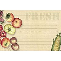 """Lang Fresh From The Farm Recipe Card by Susan Winget, 4"""" h x 6"""" w inches (2015096)"""