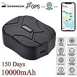 Tkstar GPS Tracker 10000mah 150 Days Standby, Tracking Device GPS Locator with Strong