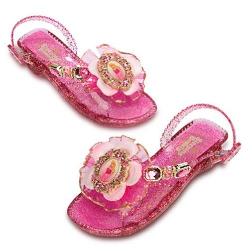 Disney Store Deluxe Aurora Light Up Sleeping Beauty Shoes Costume (13-1 US Little Kid) Pink