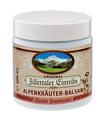 Zillertaler Einreibe Alpenkräuter-Balsam, 100 ml