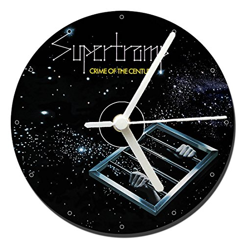 MasTazas Supertramp Crime of The Century Reloj CD Clock 12cm
