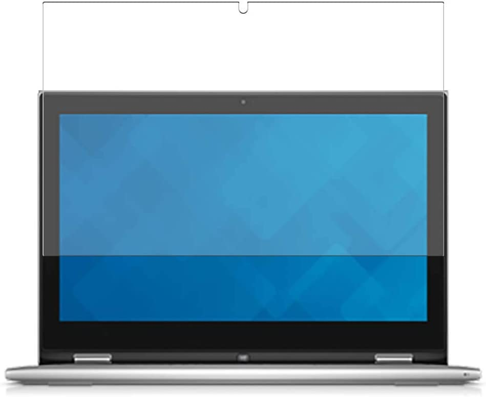 Puccy 3 Pack Screen Protector Film, compatible with Dell Inspiron 13 7000 (7348) 2-in-1 13.3