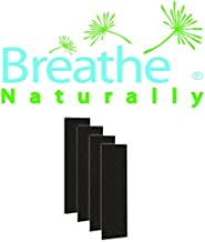 Breathe Naturally Replacement Carbon Pre-Filters for Hoover AH60015, WH10400, WH10600 Air Purifier, 4 Pack