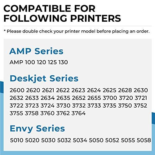 Penguin-Cartucho de Tinta Remanufacturado para HP 304xl 304 XL Compatible con AMP 100 120 125 130 Deskjet 2600 2622 2630 2652 3720 3730 3750 3764 Envy 5020 5030 5052 5058 Impresora (1 Negro, 1 Color)