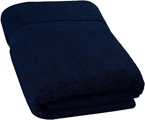 Utopia Towels - Toallas de baño Grandes, Paquete de 1 (90 x 180 cm, Azul Marino)