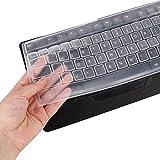 Protector universal de cubierta de teclado de escritorio, película...