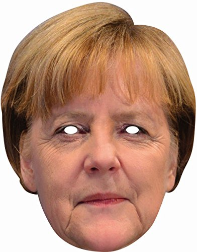 Rubies 6240401 - Angela Merkel Celebrity Face Card Mask