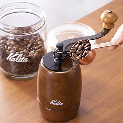 カリタKalitaコーヒーミル手挽きブラウンKH-9#42121