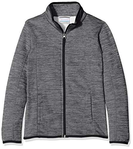 Columbia Sportswear Kinder Wilderness Way Fleece Jacke Fleecejacke, Black, XL