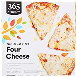 365 by Whole Foods Market, Frozen Thin Crust Pizza, Four Cheese, 12.5 Ounce