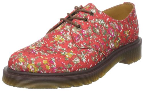 Dr. Martens Women's 1461 W 3-Eye Oxford, Coral, 9 M UK/11 M US
