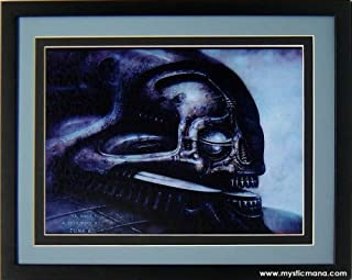 mysticmana.com H.r. Giger Poster Dune 6 Double Matted Art Display