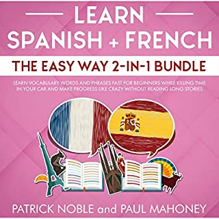 Learn Spanish + French the Easy Way 2-in-1 Bundle cover art
