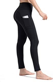 ALONG FIT Yoga Pants with Pockets, High Waisted Yoga Leggings Tummy Control Yoga Shorts Squat Proof Capis pants