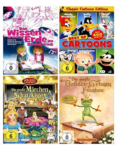 Die Kinderfilme DVD Selection | über 60 Filme + TV Serie Little Cars | Die Geschenk Idee zu Weihnachten