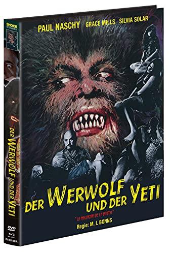 Der Werwolf und der Yeti - Mediabook - Cover A - Limited Edition auf 999 Stück (+ DVD) [Blu-ray]