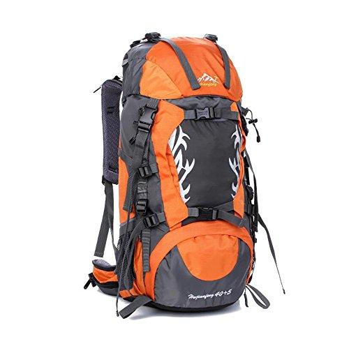 loisirs en plein air et le camping 40L sacs à dos alpinisme paquet professionnel d'équitation imperméable à l'eau , yellow