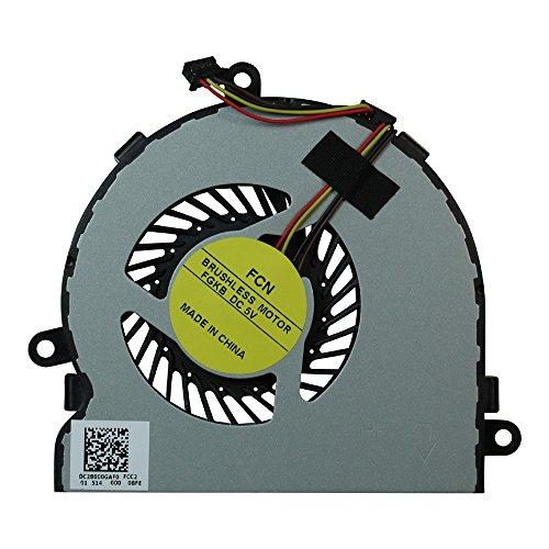 Power4Laptops Ventilador para Ordenadores portátiles 4 Pin Modelo Compatible con HP Home 15-ac109ns